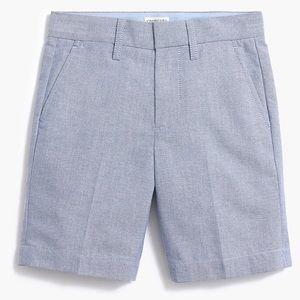 J crew boys sunwashed oxford gramercy shorts